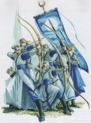 elf warhammer elves archers fantasy guard tor archer yvresse spire battle young spearmen elvish spearman war spear female fighting shield