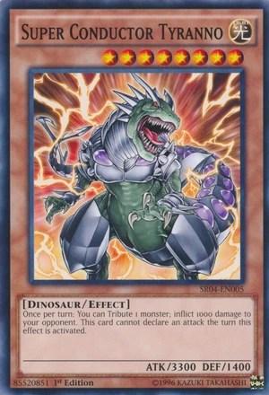Super Conductor Tyranno  Yugioh!  Fandom Powered By Wikia