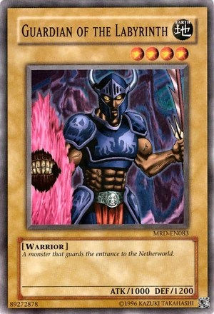 Guardian Of The Labyrinth Yu Gi Oh Fandom Powered By