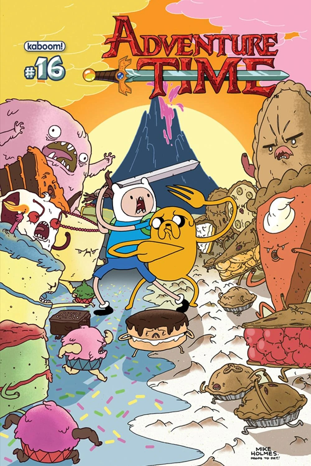Issue 16 Adventure Time Wiki Fandom Powered By Wikia