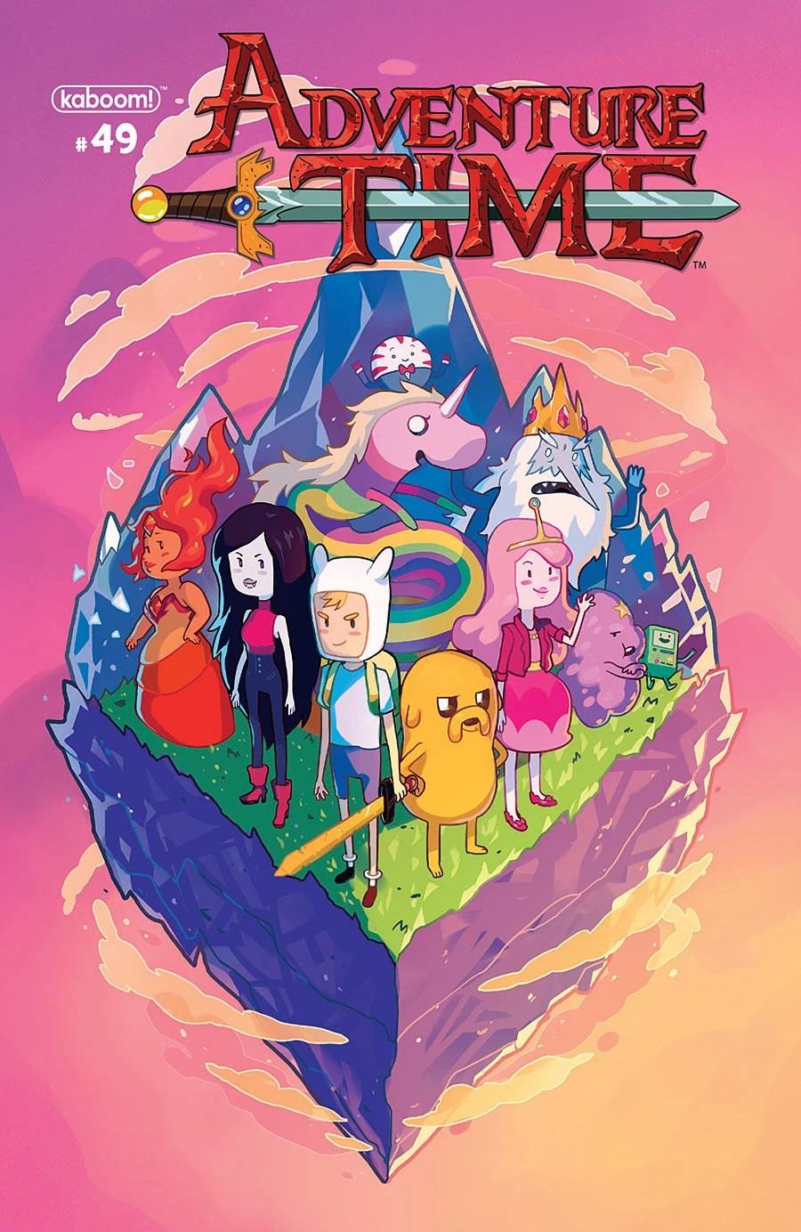 Issue 49 Adventure Time Wiki Fandom Powered By Wikia