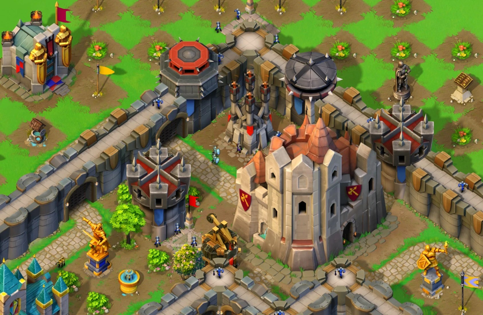 Search for aoe castle siege best defence click for details
