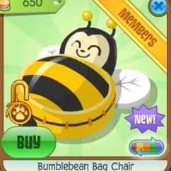 Panda Bean Bag Chair Styles Of Chairs Backs Bumblebean | Animal Jam Wiki Fandom Powered By Wikia