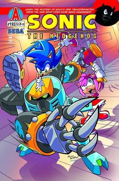 Archie Sonic the Hedgehog Issue 193  Mobius Encyclopaedia  Fandom powered by Wikia