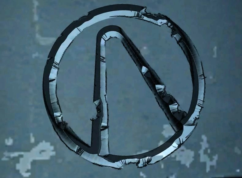 Borderlands 2 Vault Symbol Blue