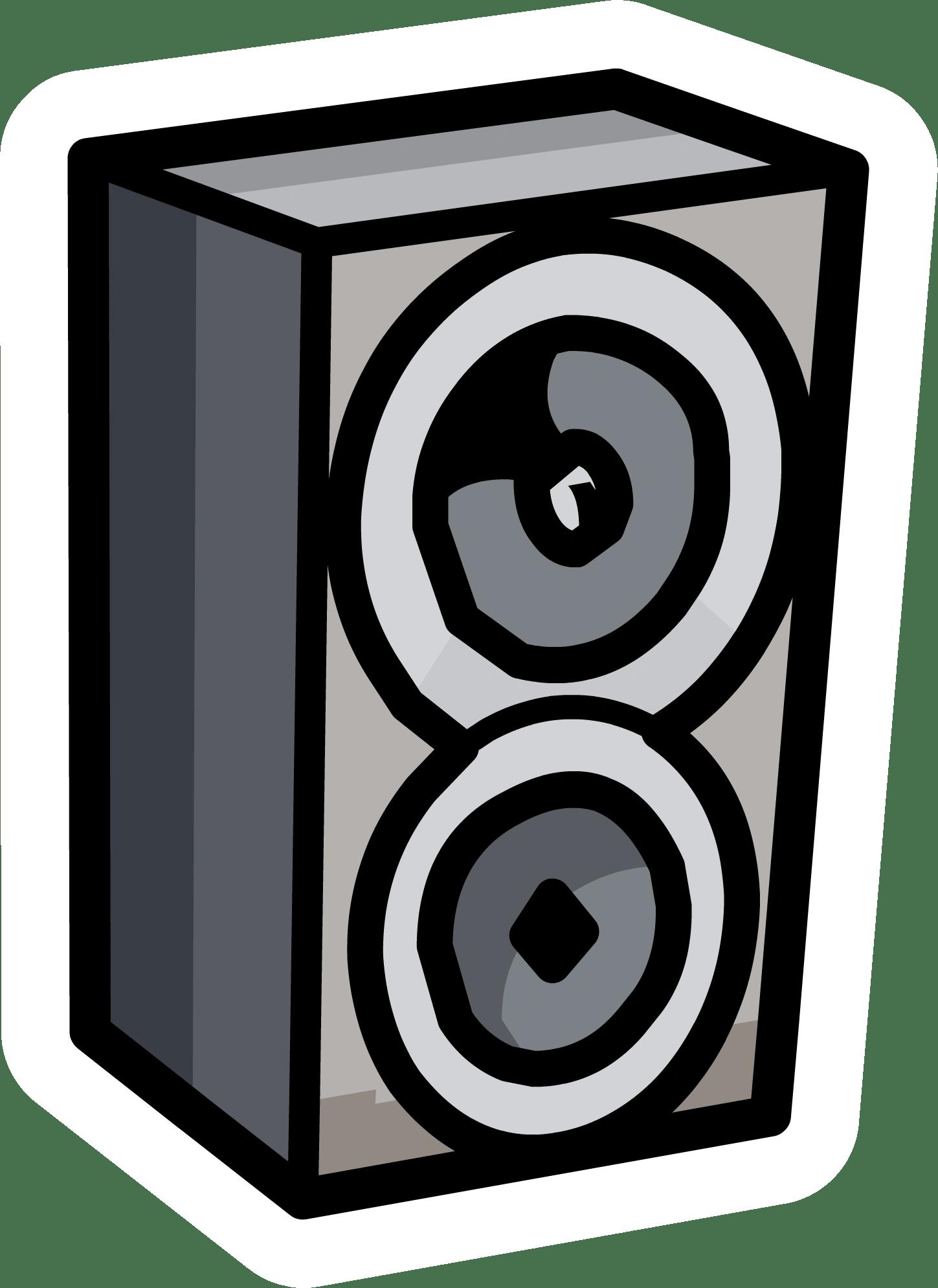 Speaker Pin  Club Penguin Wiki  FANDOM powered by Wikia