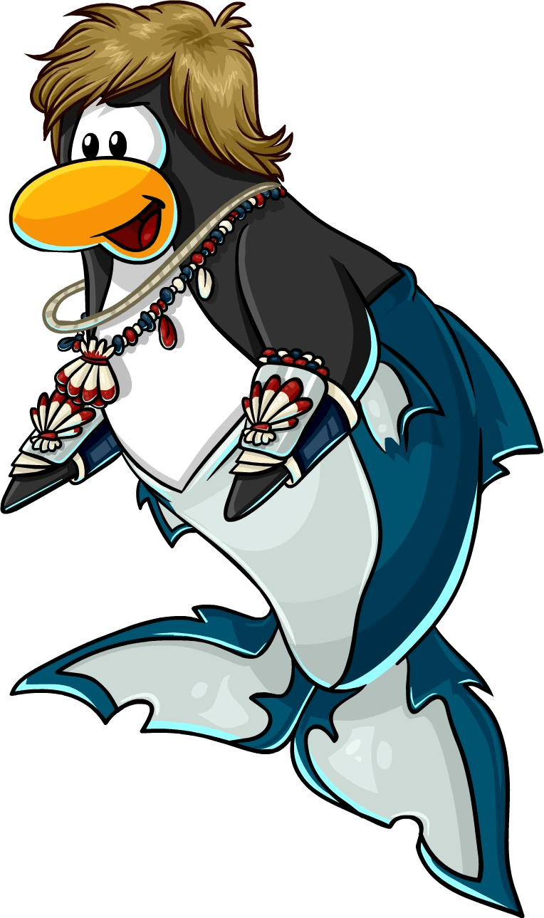 Flippers character  Club Penguin Wiki  FANDOM powered