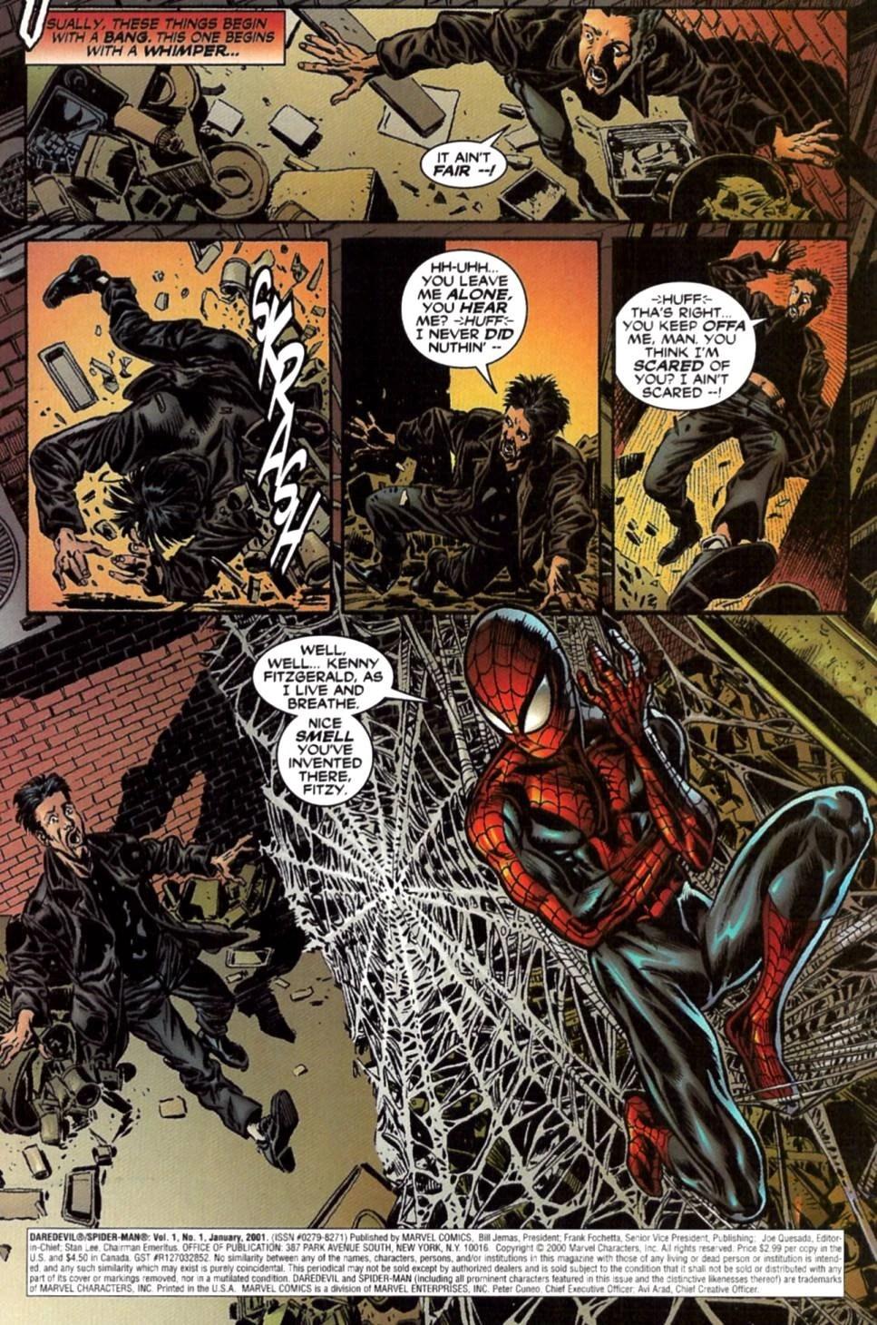 Spider-man & Daredevil Unusual Suspects Vol 1