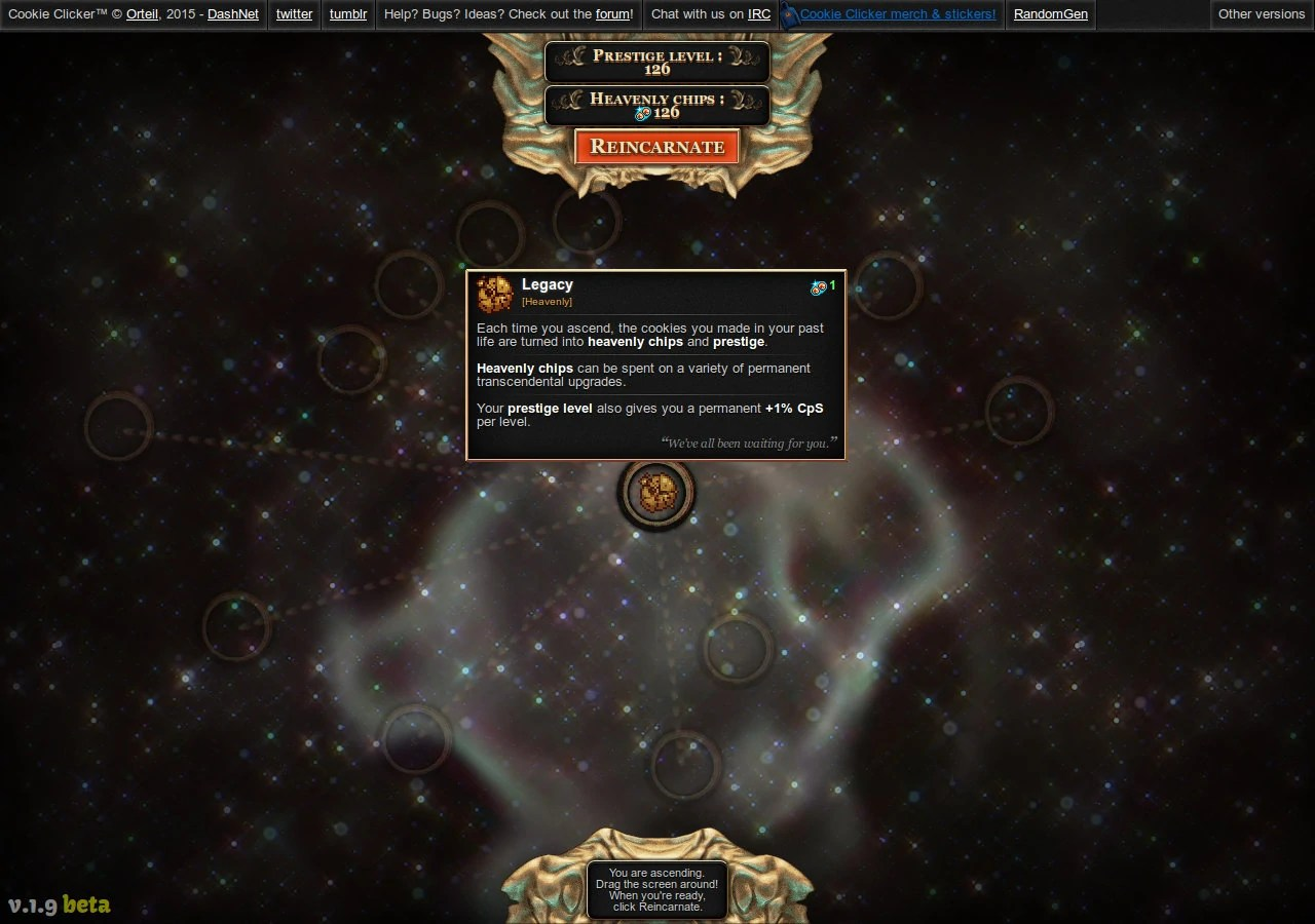 Ascension  Cookie Clicker Wiki  FANDOM powered by Wikia