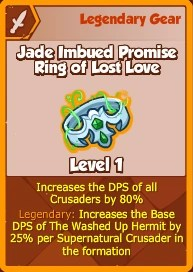 Jade Imbued Promise Ring of Lost Love (Legendary ...