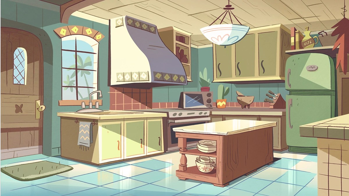 Image  Diaz house kitchenpng  Disney Wiki  FANDOM