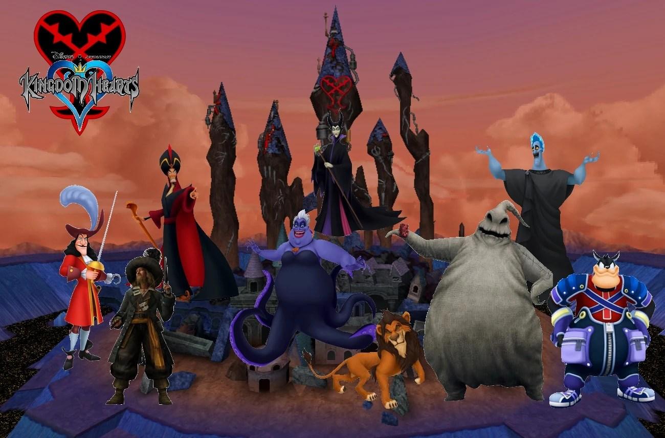 Disney Kingdom Hearts Villains Council