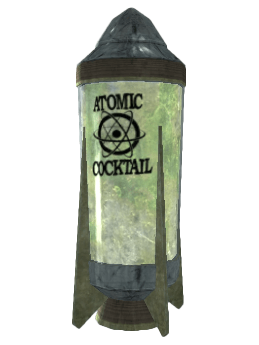 Atomic cocktail  Fallout Wiki  Fandom powered by Wikia
