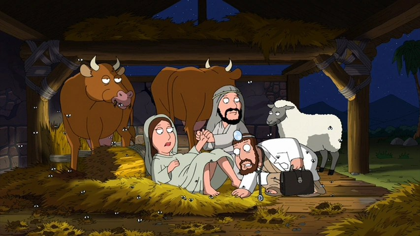 The Virgin Mary Family Guy Wiki FANDOM Powered By Wikia