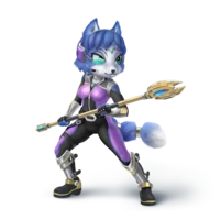 Krystal Star Fox Fantendo Nintendo Fanon Wiki