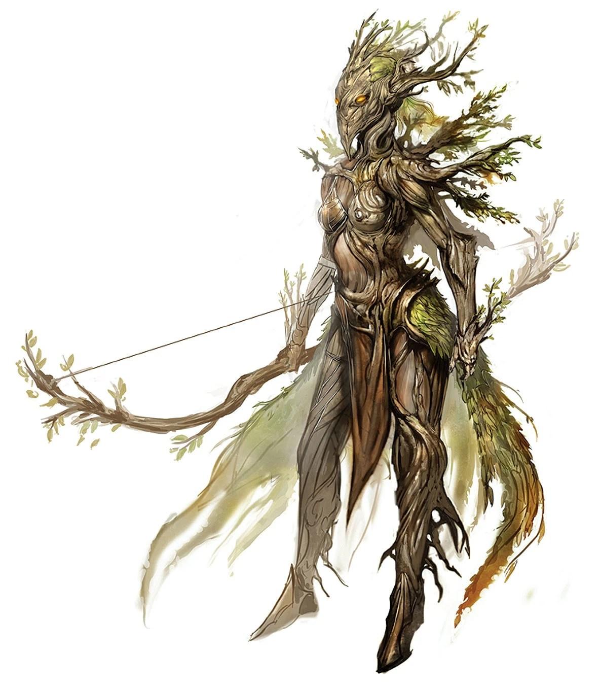 Guild Wars 2 Character Concept Art