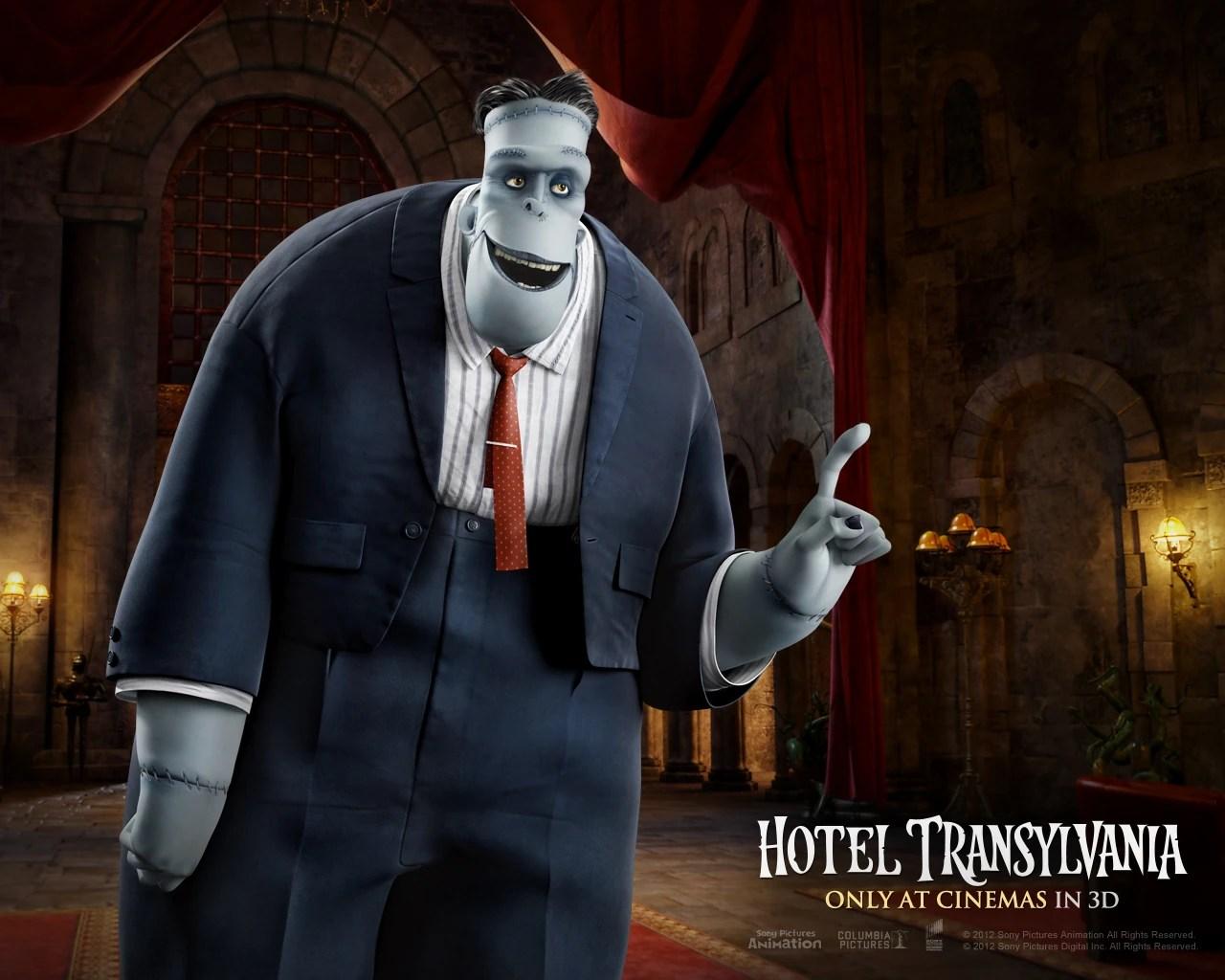 Frankenstein Hotel Transylvania