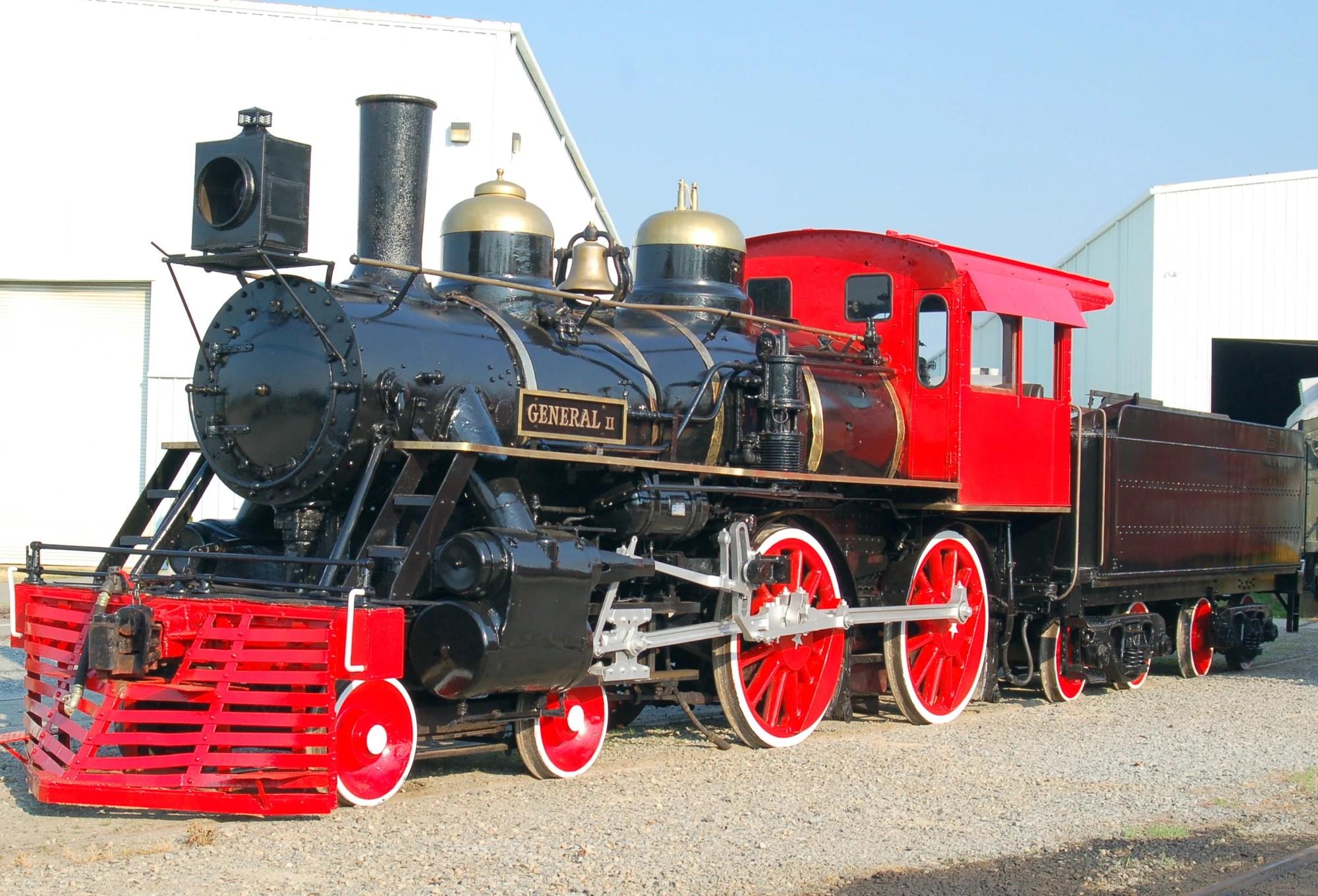 Rr& . 104 'general Ii' Locomotive Wiki Fandom