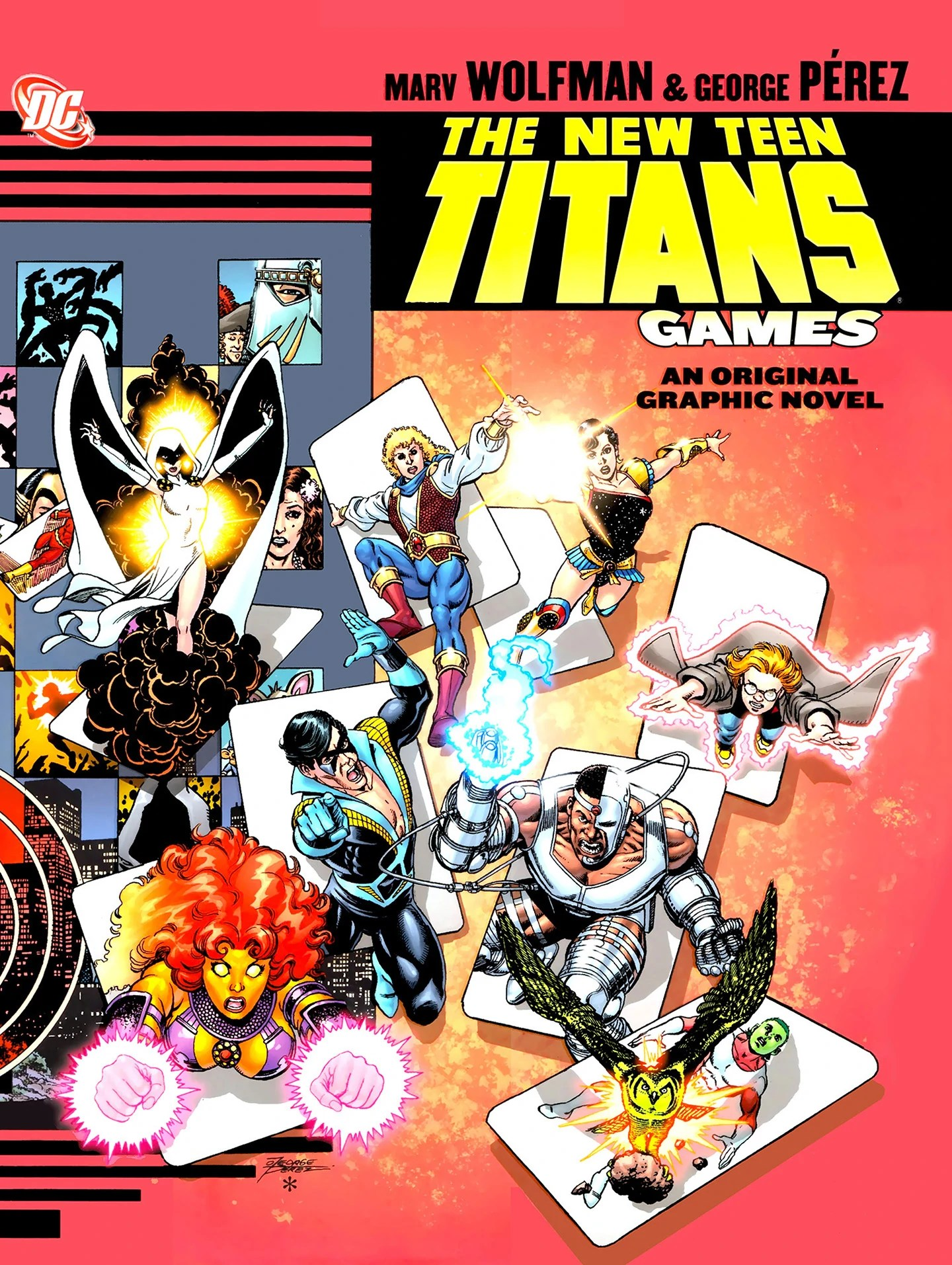 New Teen Titans Games Dc Database Fandom Powered By Wikia