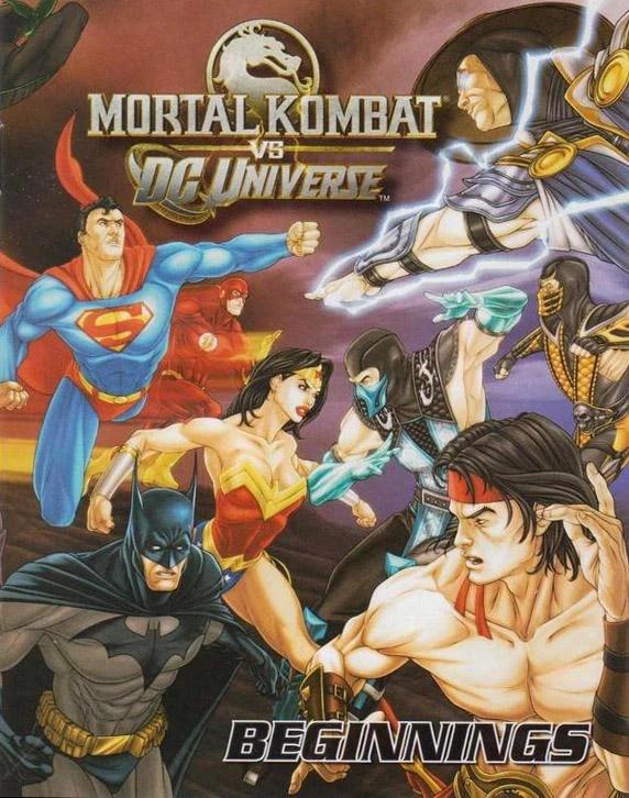 Mortal Kombat Vs Dc Universe Beginnings Dc Database