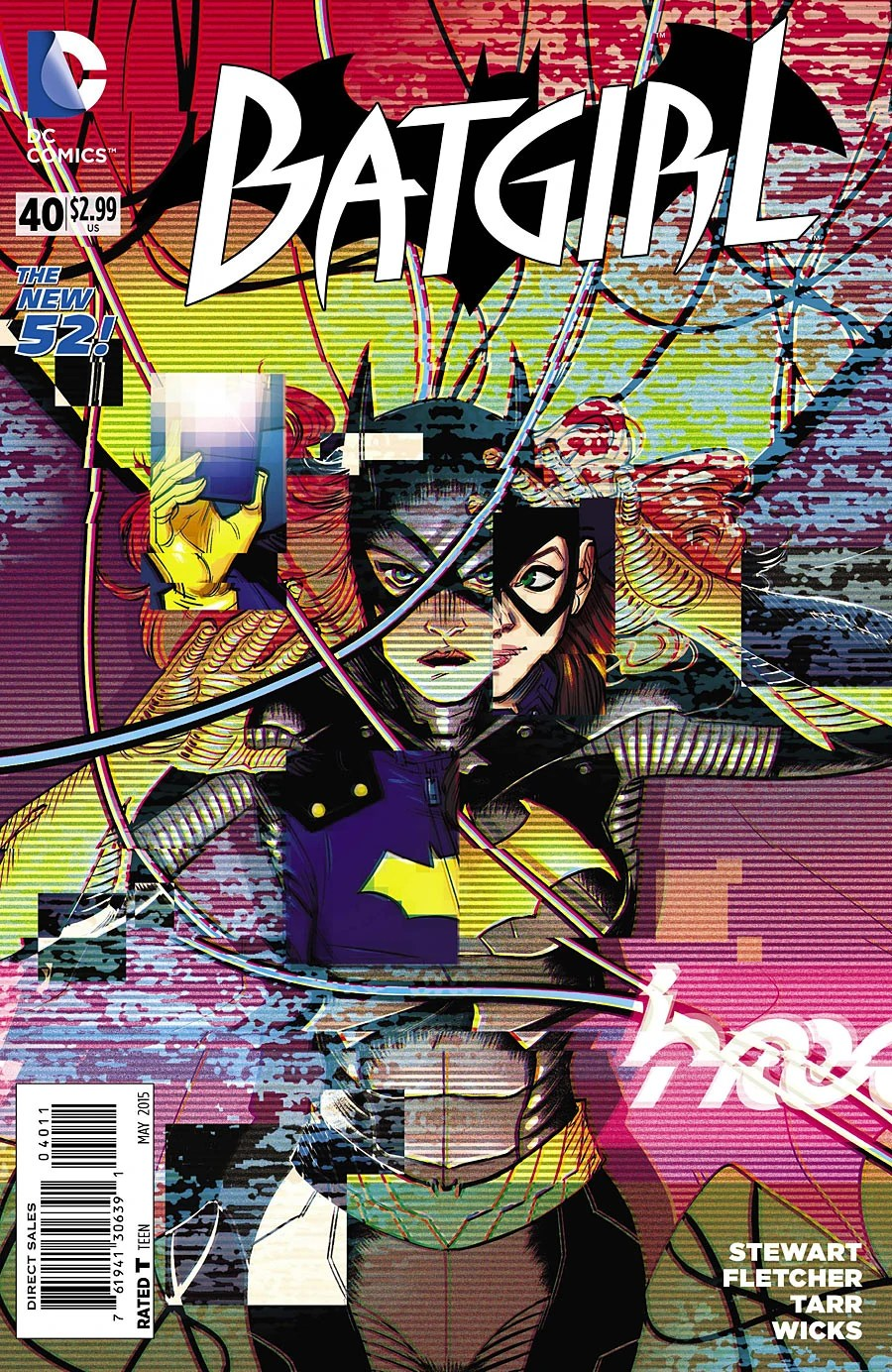 The Joker Quotes Wallpaper Batgirl Vol 4 40 Dc Database Fandom Powered By Wikia