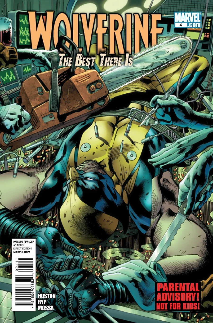 Wolverine The Best There Is Vol 1 4  Marvel Database