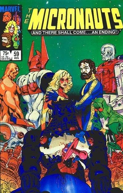 Micronauts Vol 1 59 Marvel Database FANDOM Powered By Wikia
