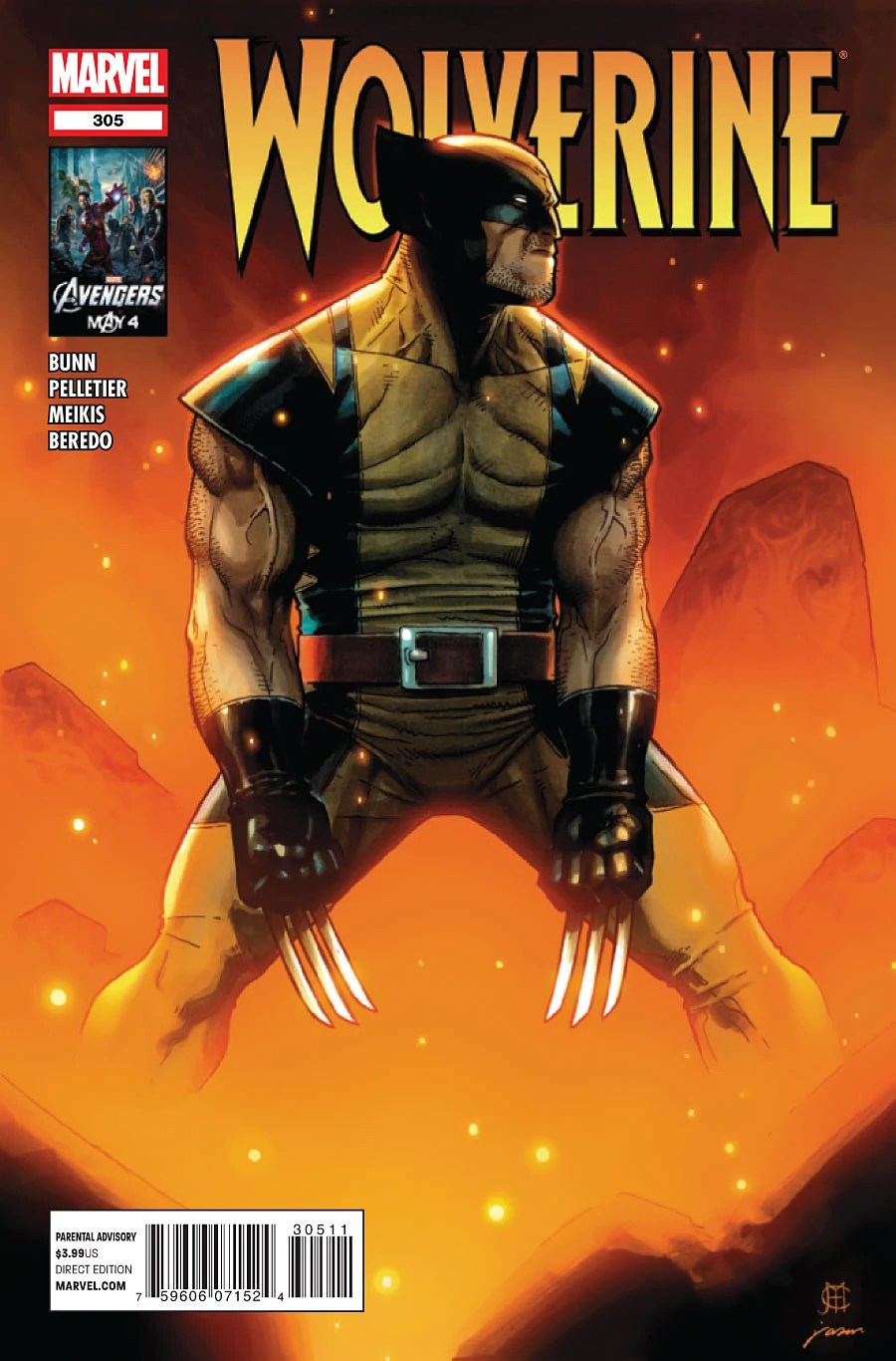 Wolverine Vol 2 305  Marvel Database  Fandom powered by