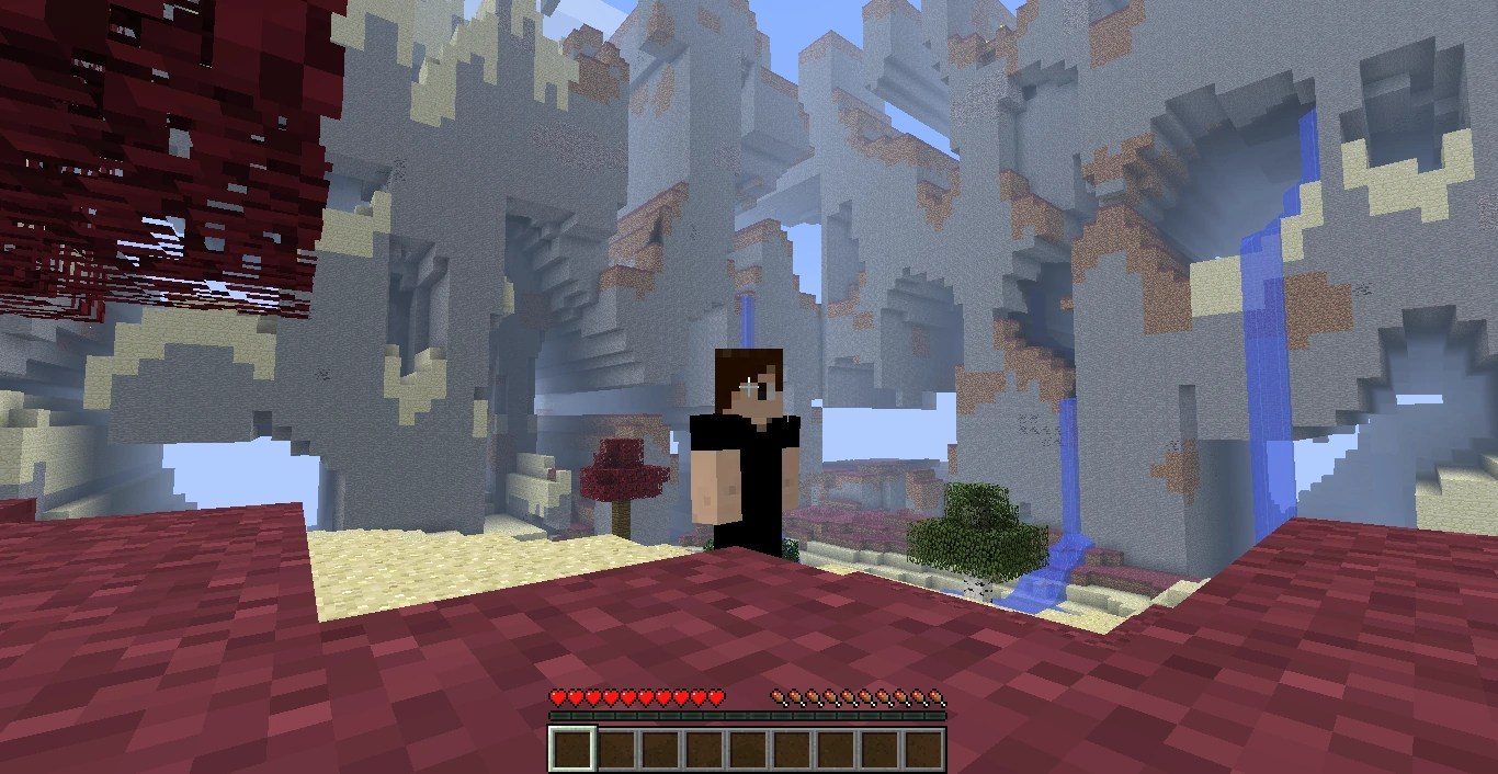 Minecraft World End 2012
