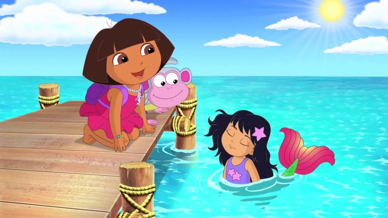 Kingdom Dora Explorer Clip Mermaid Art