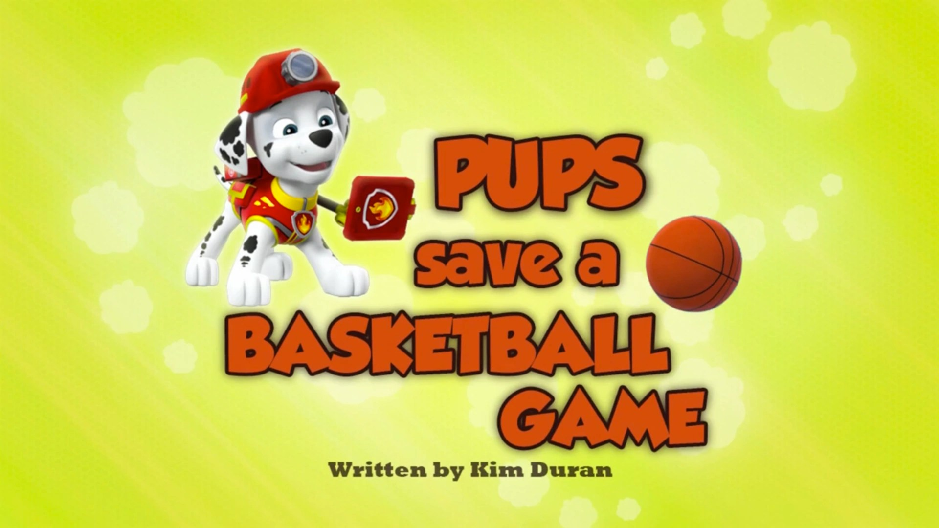 Category Pups Save A Basketball Game's Pages PAW Patrol
