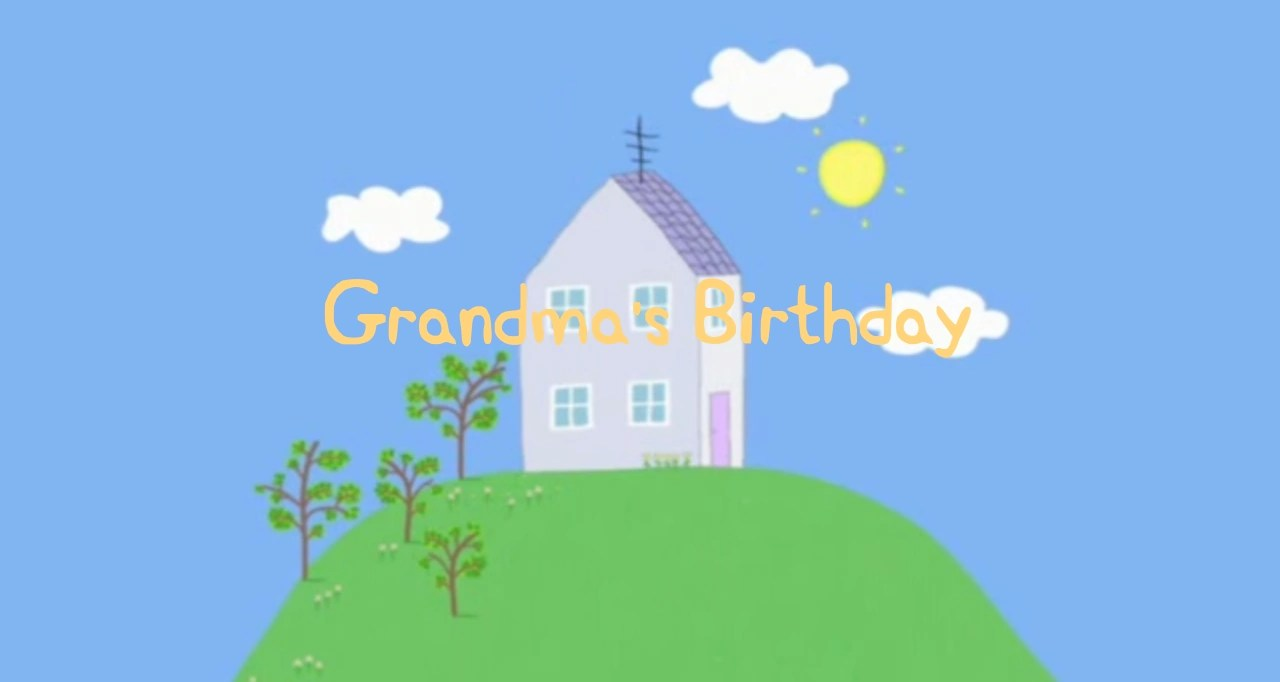 Granny Pig's Birthday Peppa Pig Fanon Wiki Fandom