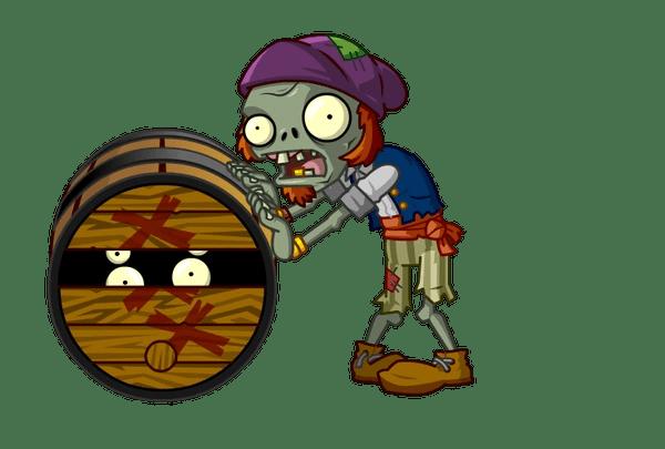 Barrel Roller Zombie Plants Vs Zombies Wiki FANDOM