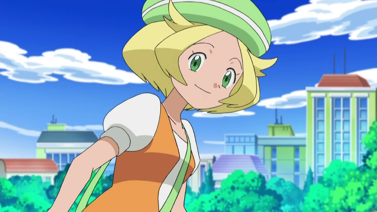 Girl Dad Hat Wallpaper Bianca Anime Pok 233 Mon Wiki Fandom Powered By Wikia