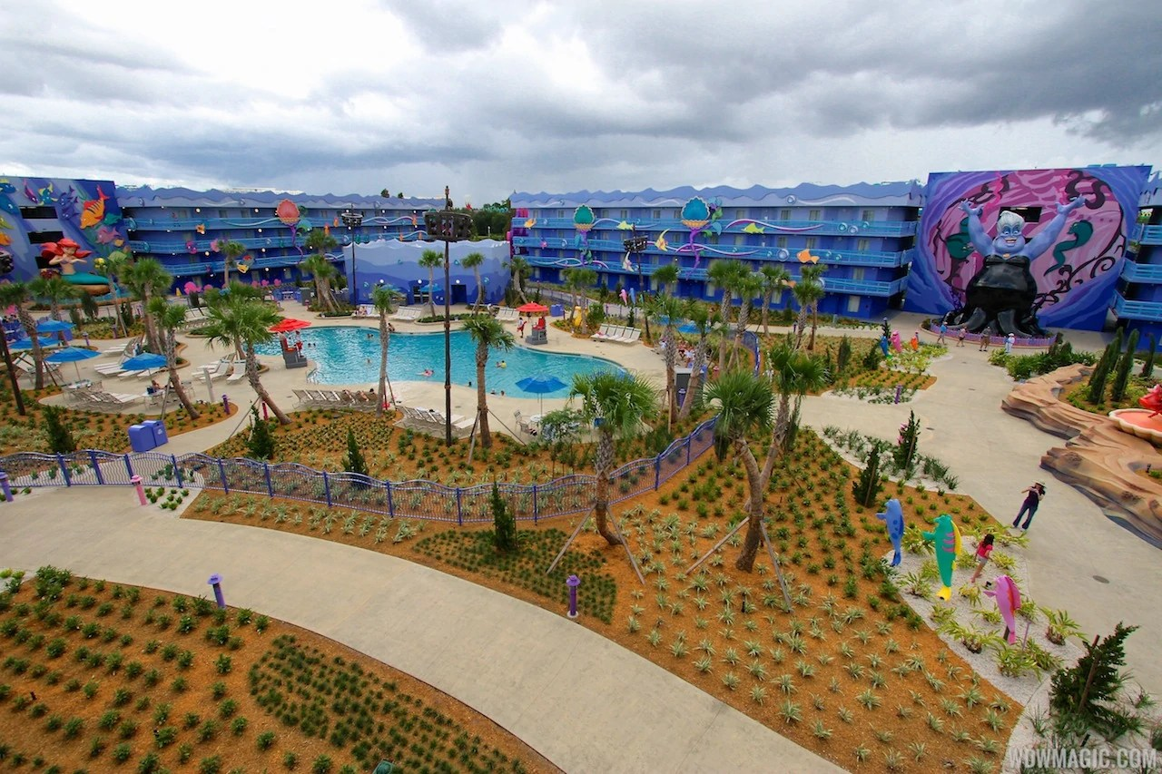 Disney Art Animation Resort Mermaid