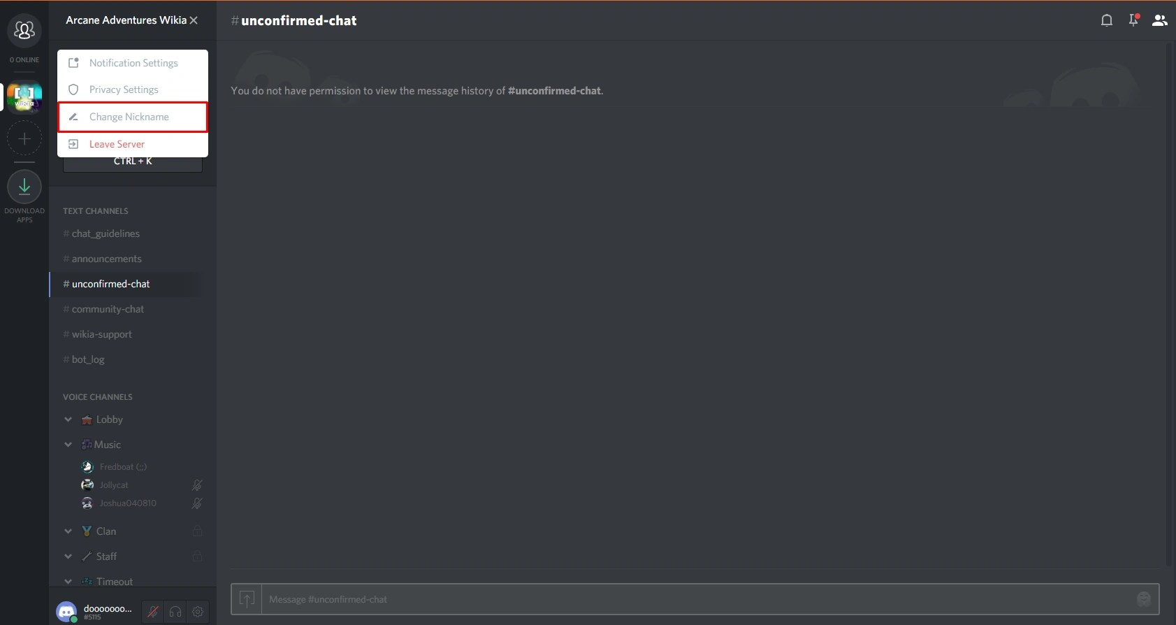 How To Lock Channels On Discord - Exploring Mars