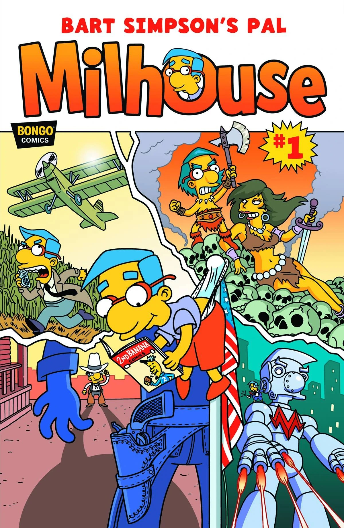 Milhouse Comic Simpsons Wiki Fandom Powered By Wikia