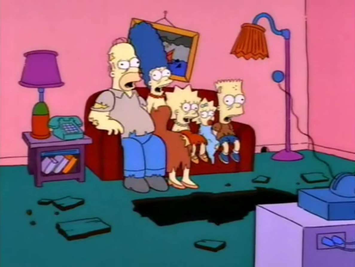 CategoryTreehouse of Horror Couch Gags  Simpsons Wiki