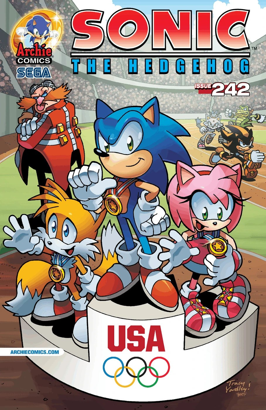 Archie Sonic the Hedgehog Issue 242  Sonic News Network