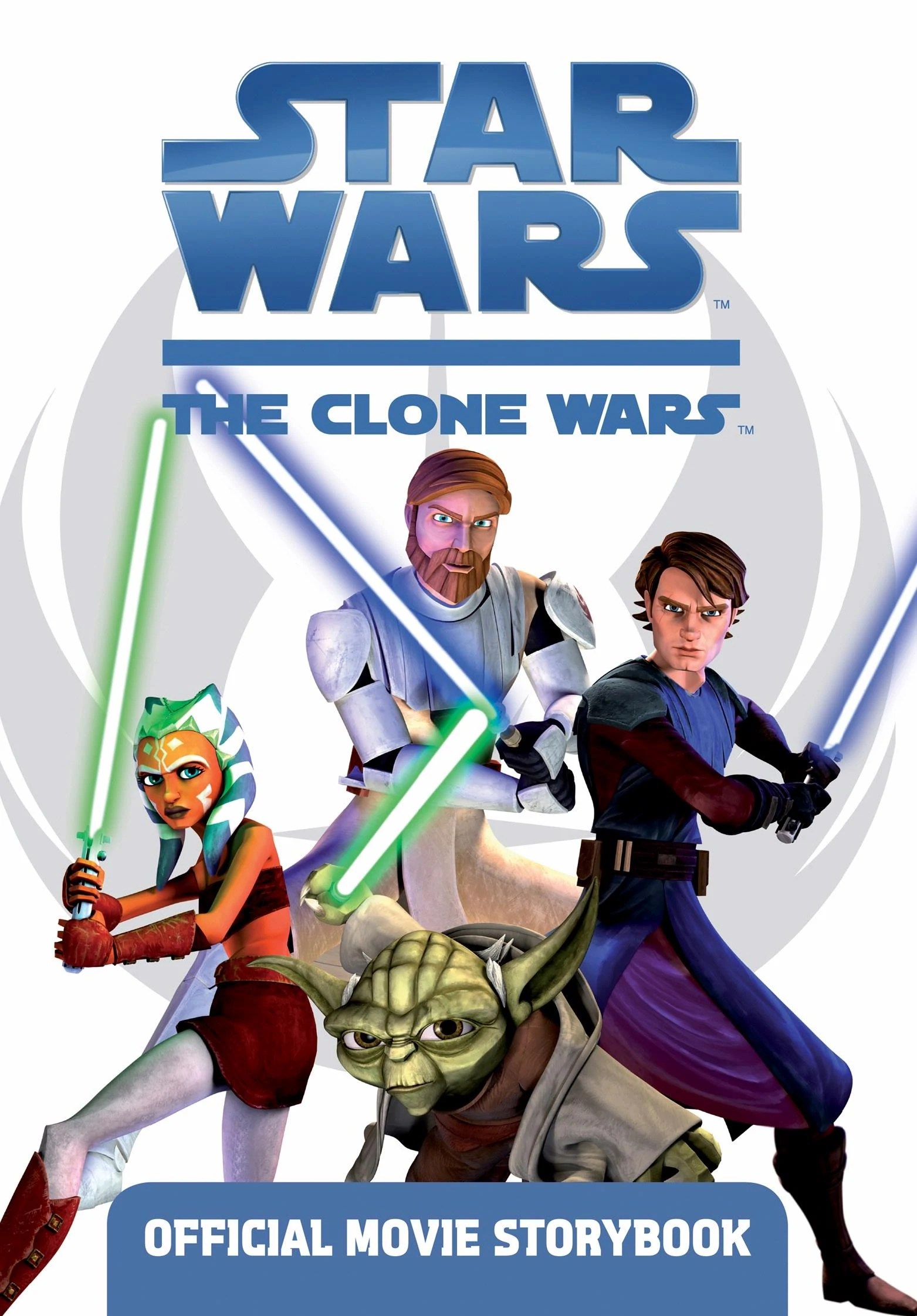 Star Wars The Clone Wars Official Movie Storybook