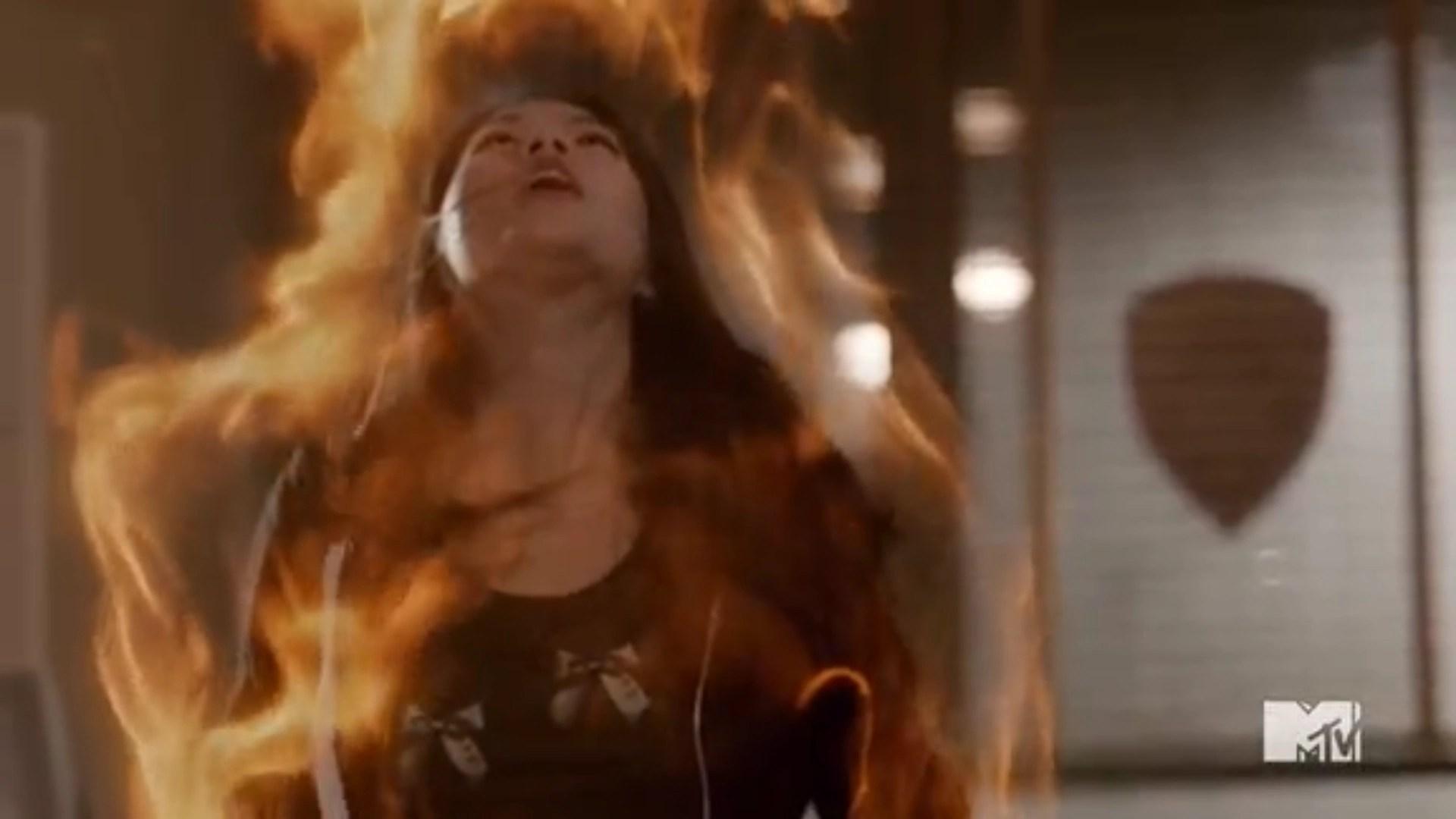 How To Fix Falling Wallpaper Teen Wolf Kira Returns Still Dating Scott Season 5b