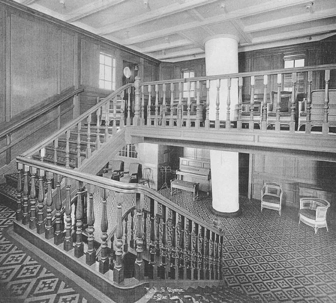 Second Class Staircase  Titanic Wiki  Fandom powered by