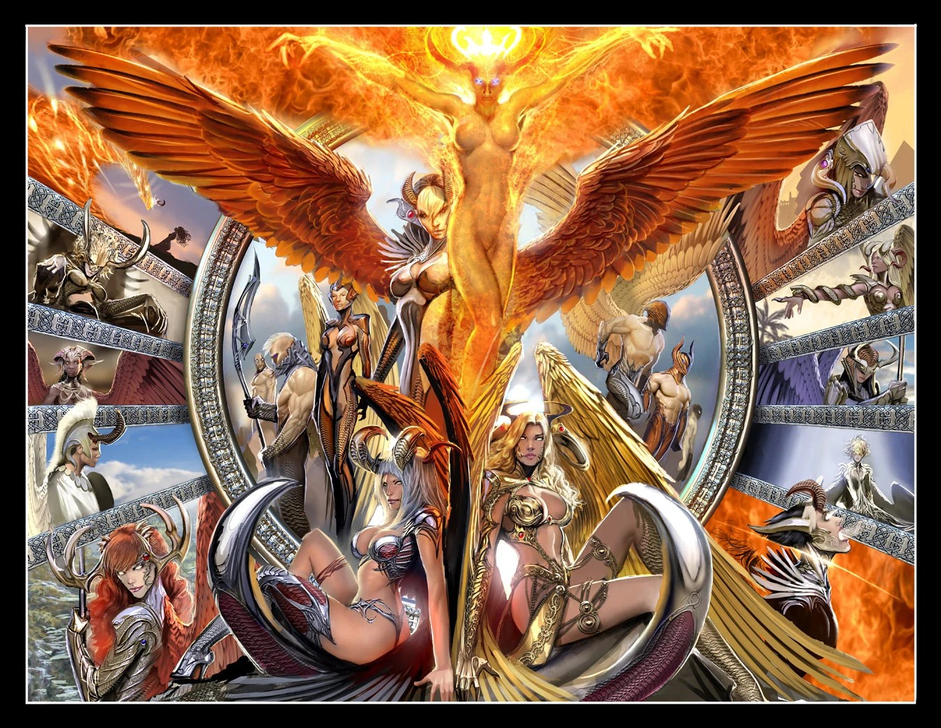 Angelus Heritage Top