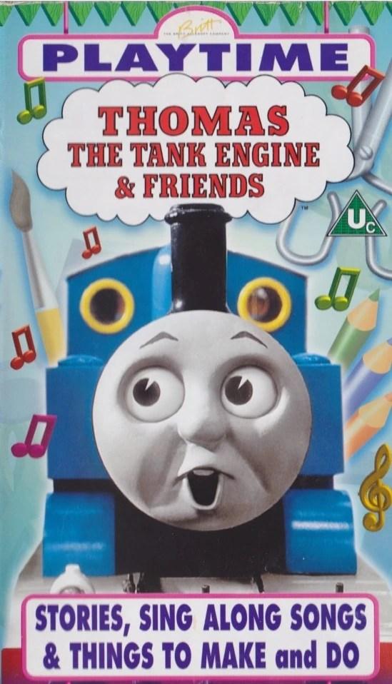 Playtime Vhs Thomas The Tank Engine Wikia Fandom