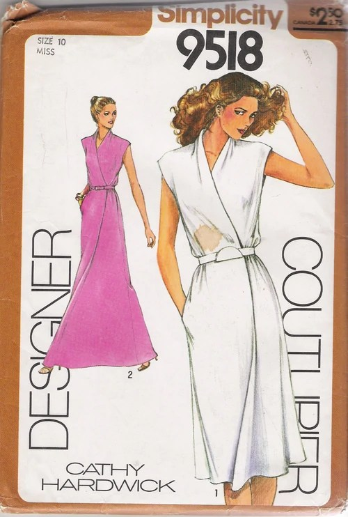 Simplicity 9518 A  Vintage Sewing Patterns  FANDOM powered by Wikia
