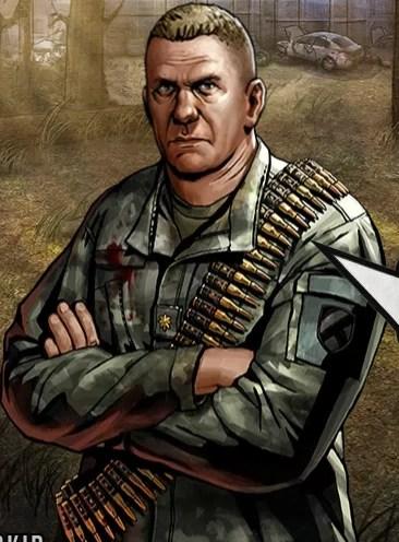 Gene Gavin Road to Survival  Walking Dead Wiki  Fandom