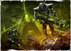 How To Reattach Falling Wallpaper Necrons Warhammer 40k Fandom Powered By Wikia