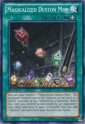 Magicalized Duston Mop  YuGiOh  Fandom powered by Wikia