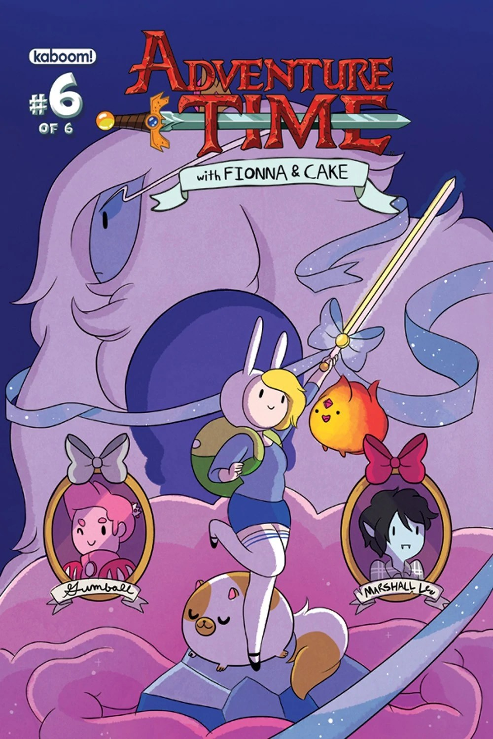 Adventure Time With Fionna And Cake Issue 6 Adventure