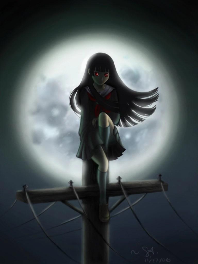 Quiet Girl Wallpaper Hd Ai Enma Anime Girls Wiki Fandom Powered By Wikia